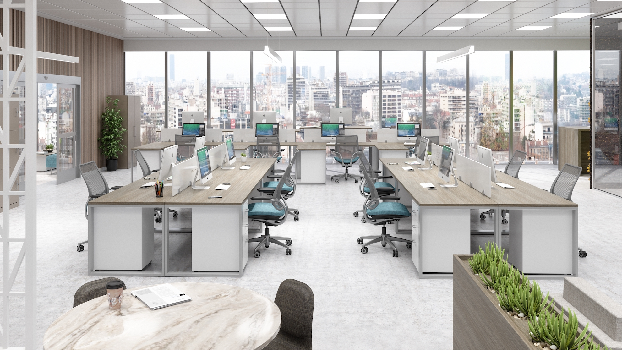 Office Layout 12